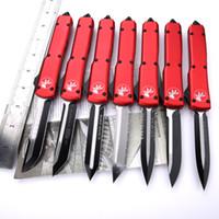 vermelho A5 CNC faca automática Benchmade BM3310 BM3300 3350 CA07 UTX85 ferramenta automática canivetes Camping caça EDC TOOL