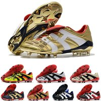 2021 Raubtierbeschleuniger Elektrizität FG Schuhe Zidane Zz Beckham Werden MENS Fussball Schuhplatten Billigungen Ursprüngliche Fußballschuhe Größe 39-45