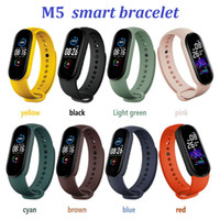 New M5 Anruf Smart Watch Smartband Sport Fitness Tracker Smart-Manschetten-Blutdruck-Echtherzfrequenzmesser Wasserdicht Smartwatch
