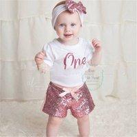 DHL gratuits DHL 21 Couleurs Bébé Enfants Sequins Shorts InS Quality Xmas Dance Gilrs Sangles Cravate Cravate Fashions Vêtements Chirmmas pour 0-8T