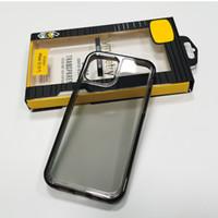 التماثل القضية واضحة وشفافة الهاتف ضد الصدمات حامي للآيفون 12 الموالية ماكس سامسونج S10 مع صندوق البيع بالتجزئة