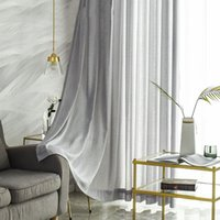 Super weiche moderne Tüllvorhang für Wohnzimmer Schlafzimmer Twig Voile Sheer Vorhänge für Fenster Blinds Wohnkulturbehandlung