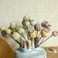 27.5cm 6Pcs 1 Bouquet Artificial Dried Fruit Flower Fake Foam Flower Ornament Home Wedding Party Christmas Decoration