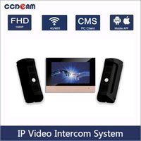 1 IP Video Intercom indoor master station + 2 IP Video Inter...