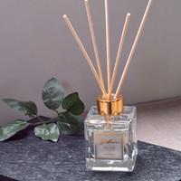 Fabricantes Conjunto de aromaterapia de no fuego directo Inicio Desodorante Aire Aroma Difusor Conjunto Aromaterapia Sala de estar Oficina Sin fuego Aceite Esencial