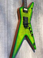 Guitare électrique de haute qualité, Signature Dimebag Darrell, Slime Dime, Meilleures guitares OEM