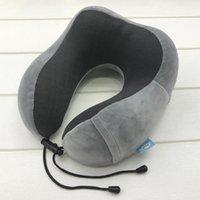Подушка подушки подушки подушки подушки портативной U-образной формы памяти пены поддерживают вашу голову для самолетов автомобилей Office NAP READ TRAVESSEIRO N