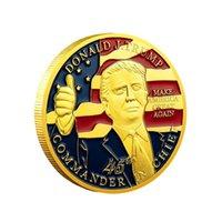 الجديدة 45 دونالد قائد J.Trump الرئيس في عملة الأمريكية الرئيس ترامب 2020 عملات مجموعة الحرف ترامب نضع عملات أمريكا مرة أخرى العظمى