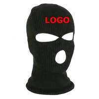 Balaclava Print Custom Motorcycle Ski Shield Sport Wind Proof 3 Hole Cycle Bike Riding Outdoor Topeng Full Face Mask