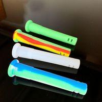 Accessori per fumare 3.0inches Downlown in silicone Accessorio infrangibile 14mm femmina 18mm maschio Air tagli a discesa per l'ingrosso