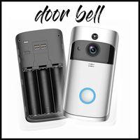Eken Wireless V5 Boorbells Home Video 720P HD WIFI الاستخبارات في اتجاهين الصوت للرؤية الليلية أجراس الباب مع التطبيق التحكم عن بعد لا شعار