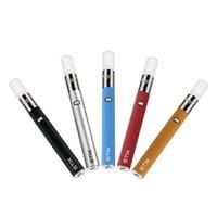 Yocan Stix Vape-Stift tragbare Verdampfer-Starter-Kits mit variabler Spannungsbatterien Keramikspule mit eingebautem Mühle und Rührstift