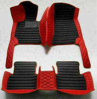 For Mercedes Benz GL 2008-2016 Car Foot Pad Luxury Surround Waterproof Leather Car Foot Pad
