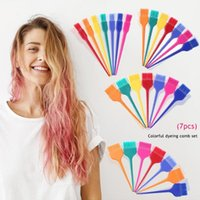 Coloring Styling Hairdressing Dyeing Coloring Kit Colorful B...