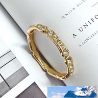 Bone Full Diamond Ring Finger Woman Bamboo Bamboo Joint Ring...