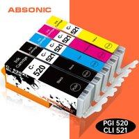 Cartuchos de tinta PGI520 CLI521 para CANON CARTRIDGE C-520 C-521 520 521 Reemplace Pixma IP3600 IP4700 MP550 MP640 MP980 MP980 MP980 MP990 Impresora
