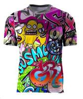 2020 Yeni Kişilik Dağ Bisikleti Bisiklet Jersey Ceket Motosiklet Yarış Jersey Uzun Kollu Tişört Polyester Hızlı Kuruyan Malzeme