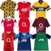 04 05 06 Arsen Retro maillot de football 82 88 89 HENRY Vintage PIRES 1994 1995 de football t-shirt 1997 2000 20002 BERGKAMP Football uniforme
