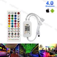 Contrôleurs RVB Bluetooth DC5-12V Voix / Musique Sync 40Keys Remo Accessoires d'éclairage pour bande LED Bande Light Ruban DHL