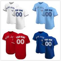 Bo Bichette Toronto 2020 저지 Cavan Biggio 블라디미르 Guerrero Jr. 현 - 진 류 랜 칼리 쿠 남성 여성 어린이 청소년 야구 유니폼