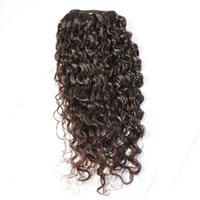 가장 인기있는 처리되지 않은 처녀 물 웨이브 인간의 머리카락 3 번들 여성을위한 클로저가있는 최고 품질 브라질 헤어 제품 아름다움 머리카락