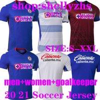 2020 CD كروز Azul Soccer Jerseys Man Women Women 20 21 Alvarado 25 Rodriguez 21 Pineda 31 Escobar 24 Romo 7 Jersey Football Shirts