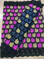 african bazin riche fabric cotton dry basin brode lace fabric 2.5yards +2.5yards Swiss Voile In Switzerland Dubai Fabric