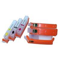 PGI 480 481 cartouche d'encre rechargeable avec puce permanente pour Canon PIXMA TS704 TR7540 TR8540 TS6140 TS9540 TS6240 TR 7540printer