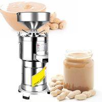 arachidi commerciale tahini fa macchina tahini burro di arachidi smerigliatrice alta qualità piccolo mulino di macinazione colloidale mandorle macchina burro di noci