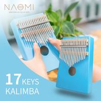 Çocuklar / Yetişkin / Başlayanlar İçin NAOMI 17 Tuşlar Kalimba Başparmak Piyano Parmak Piyano Hediyeleri