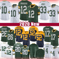 10 Liebe 12 Aaron Rodgers Jones Grün
