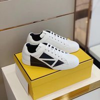 2020 latest design shoes white leather low-top sneakers casual shoes fashion trend comfortable breathable size 38-45