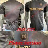 2020 2021 La Los Angeles FC LaFC Vela Soccer Jerseys Player Versione Homa 20 21 Zimmerman Rossi Benedizione Uomini Camicie da calcio Adulti Uniforme