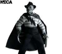 """NECA SDCC Tissu Doll A Nightmare on Elm Street Freddy Krueger Action Doll édition Figurine PVC Toy Collection 8"""" 19cm"""
