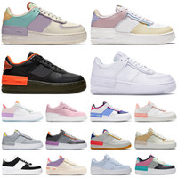 nike air force 1 shadow forces one af1 Travis Scott reagieren airforce Schatten Laufschuhe Skeleton Grau Nebel Damen Herren Trainer ourdoor Sport Turnschuhe Plattform drop
