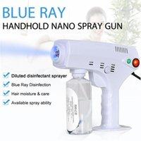 2020 New Hot Handheld Elétrica Nano Hair Spray Ferramentas Gun Blue Ray Desinfetante Esterilizador 1200W Big poder de limpeza do agregado familiar