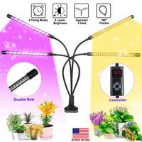 식물 모종 꽃 실내 Fitolamp를 들어 라이트 USB 식물 램프 전체 스펙트럼 Fitolampy으로 제어 LED 성장 박스 성장