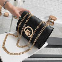 2020 mode féminine sac chaîne losange dessus l'épaule qualité de sac à bandoulière de verrouillage anti-oxydation Sacs