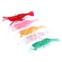Hengjia 60bags 1,88 g 6 centímetros Japão Pesca Pesca Worms swimbaits suave Lure Fly Fishing Isca Lure plástico macio gêmeo da cauda Grubs isca