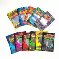 Solucanlar Edibles Ayılar Küpler Sakızlı çanta Packaging Hologram 500MG Edibles Dank gummies çanta Kanıtı Mylar Bag Koku