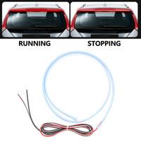 Evrensel Kırmızı LED Araç Fren Durdur Arka Kuyruk Light Bar Şerit Sinyal Şerit Su geçirmez Yedekleme Ters Lambası Otomobil Parçaları çevirin
