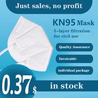 KN95 Cover FaceeMask одноразовые маски без тканых женщин мужчин тканевые пылезащитные ветрозащитные без клапана противотуманный пылезащитный упор