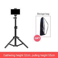 Mobile PhoneTripod Fill Light Bracket for Live Broadcast Photography Camera Universal Portable Fill-in Light Lamp Tripod Bracket