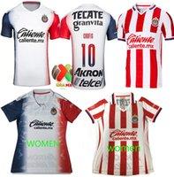 Donne Chivas de Guadalajara Jersey di calcio 20 21 Ragazze Guadalajara Maillot de Foot Uniformi signore donne Camicia calcio