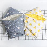 Mantas Swaddling Soft Algodón Infantil Swaddle Peluche Sobre Stroller Wrap For Born Baby Redding Manta Snowdler Sleeping Bag Sleepsack