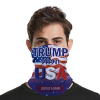 2020 Trump masque facial Lavable impression élection américaine Masques Anti-poussière magique randonnée à vélo Foulards Designer Party Masques CYZ2571 200pcs
