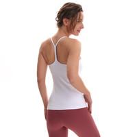 قميص قصير اليوغا الرياضية الصدرية الصدرية النايلون مرونة عالية للصدمات النساء الملابس الداخلية مع اللياقة البدنية وسادة الصدر تشغيل سترة رياضية داخلية قمم للدبابات