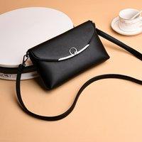النساء في منتصف العمر في الفاصل حقيبة الكتف المائل بسيط حساس حقيبة جلدية صغيرة الأم لينة عملة المحفظة الأم في القانون