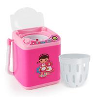 Mini pincel de maquillaje eléctrico Limpiador de lavado Cosmético Esponja Pestañas Máquina de limpieza Pink / Azul / Negro para maquillaje Herramienta