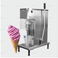 Milkshake gelée Crème glacée Machine Gelato Glace Cream Machine Machine de Mélangeuse congelée Mélangeur de Yaourt Machine Shake for Shop Store Hotel Restaurant